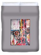 Deeply Rooted V Duvet Cover