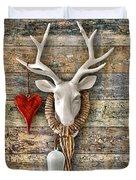 Deer Heart - Hirschherz Duvet Cover