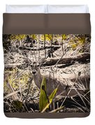 Deer In The Wood Duvet Cover