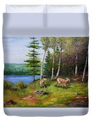Deer Meadow Duvet Cover