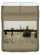Deer Point Lake At Dusk Duvet Cover