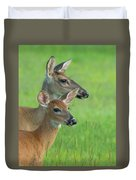 Deer Portrait Duvet Cover