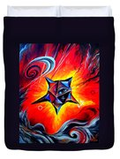 Defender Of The Way To Nirvana Duvet Cover
