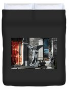Defenders At The Gate Duvet Cover