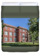 Defiance College Tenzer Hall Duvet Cover