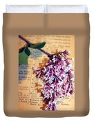 Defining Lilacs Duvet Cover