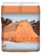 Defunct Winter Duvet Cover
