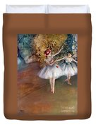 Degas: Dancers, C1877 Duvet Cover