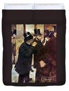 Degas: Stock Exchange Duvet Cover