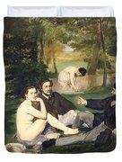 Dejeuner Sur L Herbe Duvet Cover by Edouard Manet