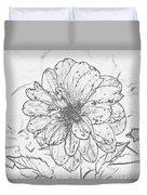 Lush Blossom Duvet Cover