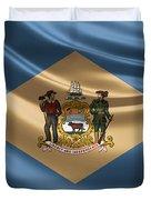 Delaware State Flag Duvet Cover