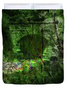 Delaware Green Duvet Cover by Richard Ricci