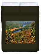 Delaware River From The Appalachian Trail Duvet Cover