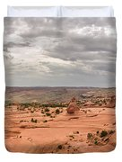 Delicate Arch Panoramic Duvet Cover