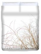 Delicate January Tree Branches Duvet Cover