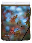 Delicate Signs Of Autumn Duvet Cover