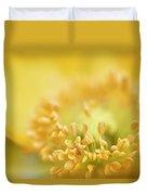 Delicate Yellow Poppy Duvet Cover
