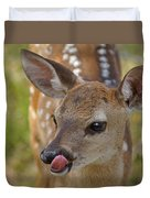 Delicious Deer Duvet Cover