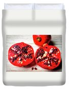 Delicious Pomegranate Duvet Cover
