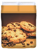 Delicious Sweet Baked Biscuits  Duvet Cover