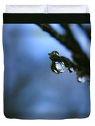 Delighted By Droplets Duvet Cover