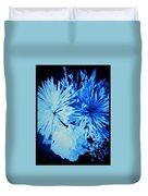 Delightfully Blue Duvet Cover