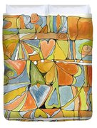 Delusions Of The Heart Duvet Cover
