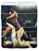 Dempsey And Firpo  Duvet Cover