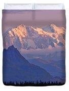 Denali Glows Duvet Cover