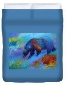 Denali Grizzly Bear Duvet Cover