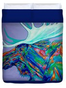 Denali Moose Head Duvet Cover
