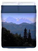 Denali Mountain Duvet Cover