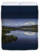 Denali Wonder Lake Duvet Cover