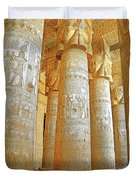 Dendera Temple Duvet Cover
