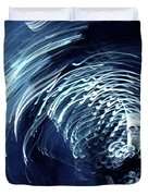 Denim And Light  Abstract 1 Duvet Cover
