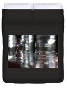 Denmark Abstract Of Glass Chess Set Duvet Cover