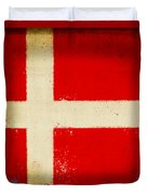 Denmark Flag Duvet Cover