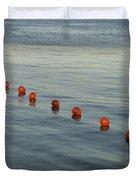 Denmark Red Safety Balls Floating Duvet Cover