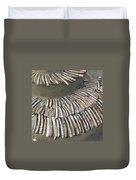 Denmark, Romo, Seashells, Razor Clams Duvet Cover