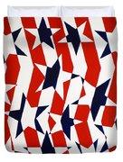 Dennis Conner II Duvet Cover by Oliver Johnston