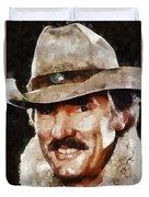 Dennis Weaver, Actor Duvet Cover