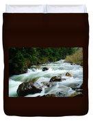 Denny Creek  Duvet Cover