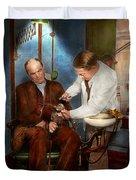 Dentist - Monkey Business 1924 Duvet Cover