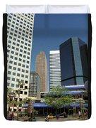 Denver Architecture Duvet Cover