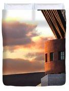 Denver Art Museum And Library Duvet Cover