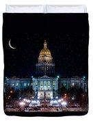 Denver Capital Nights Duvet Cover