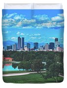 Denver City Park Duvet Cover
