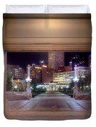 Denver Civic Center Park  Duvet Cover