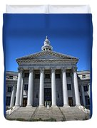Denver, Colorado Courthouse Duvet Cover